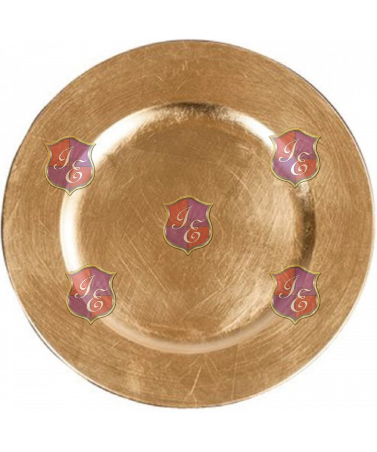 Solid Charger Plate (Gold)