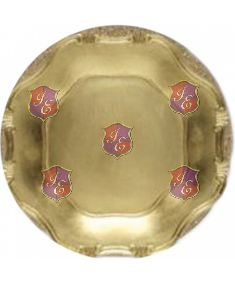 Baroque Charger Plate (Gold)