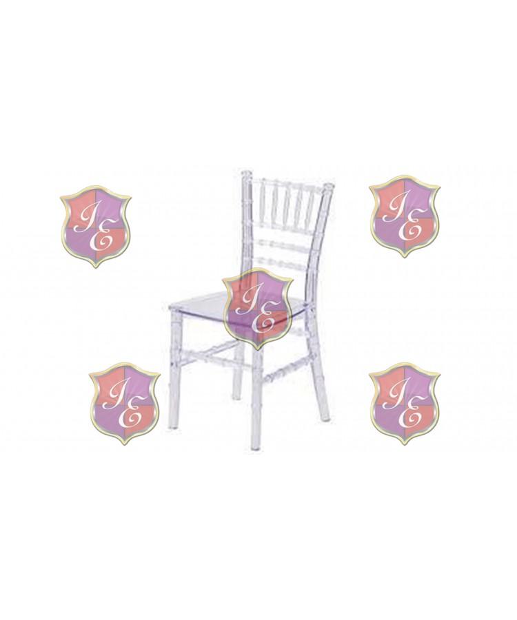 Kid Chiavari Chair (Clear)
