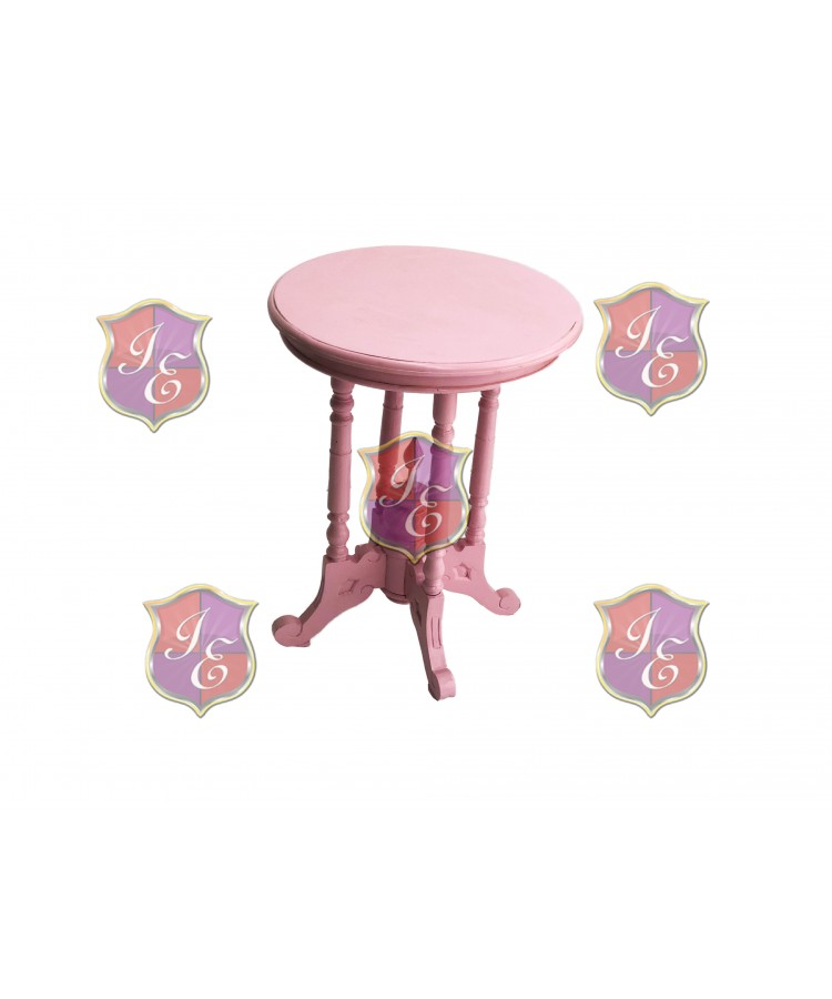 Vintage Acadia End Table (Pink)