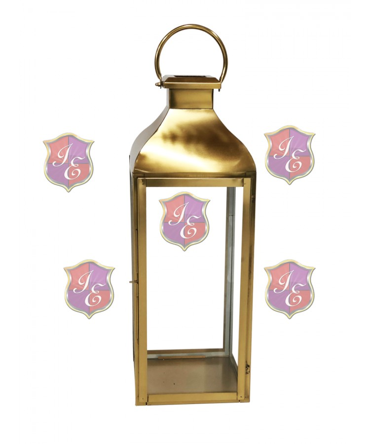 Melrose Lantern (Medium)(Gold)
