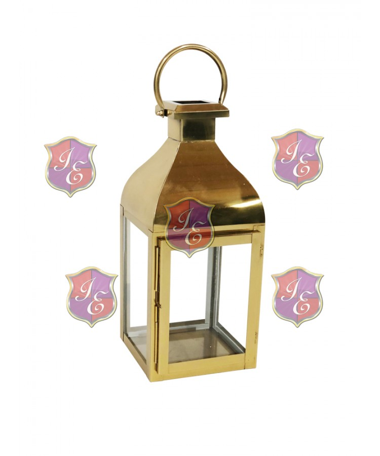 Melrose Lantern (Small) (Gold)