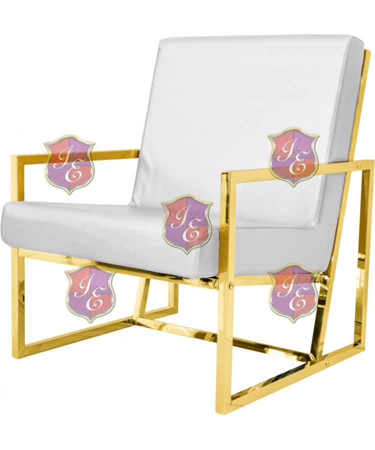 Reflection Rain Armchair (Gold - White)