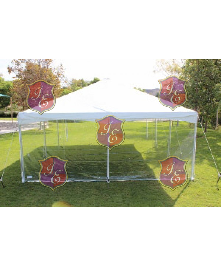 Sidewall for Tent 20'x8' (Clear)