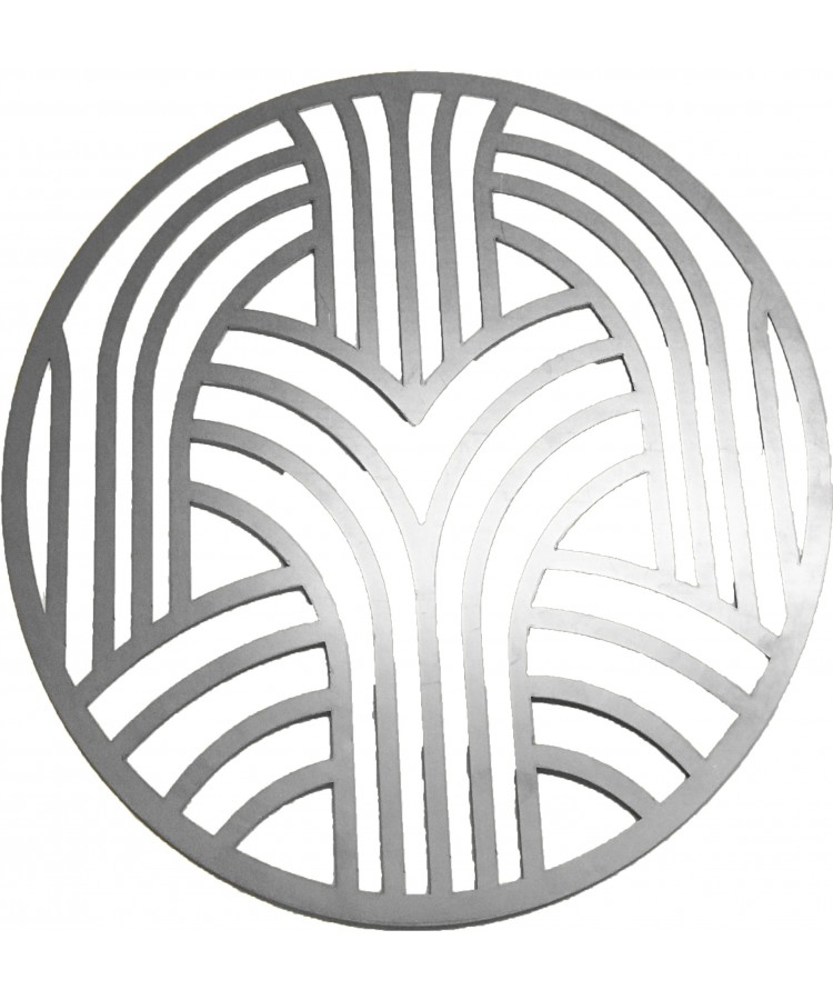 Artdeco Charger Plate (Silver)