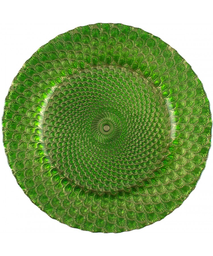 Luxe Charger Plate (Green)