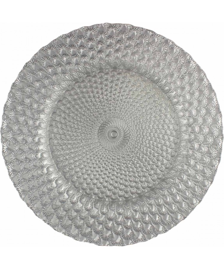Luxe Charger Plate (Silver)