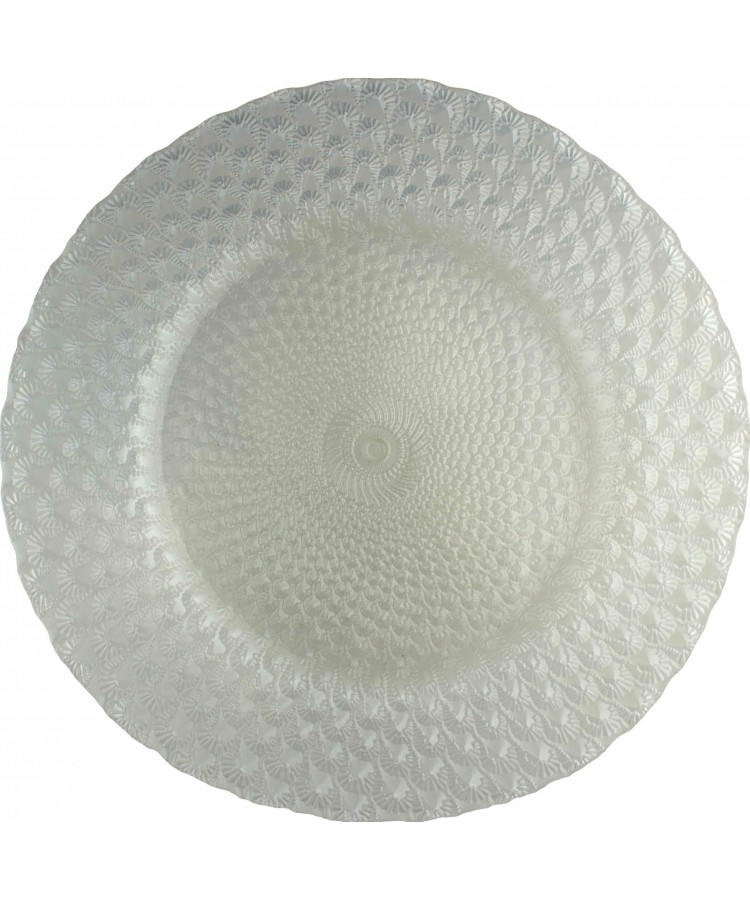 Luxe Charger Plate (White)