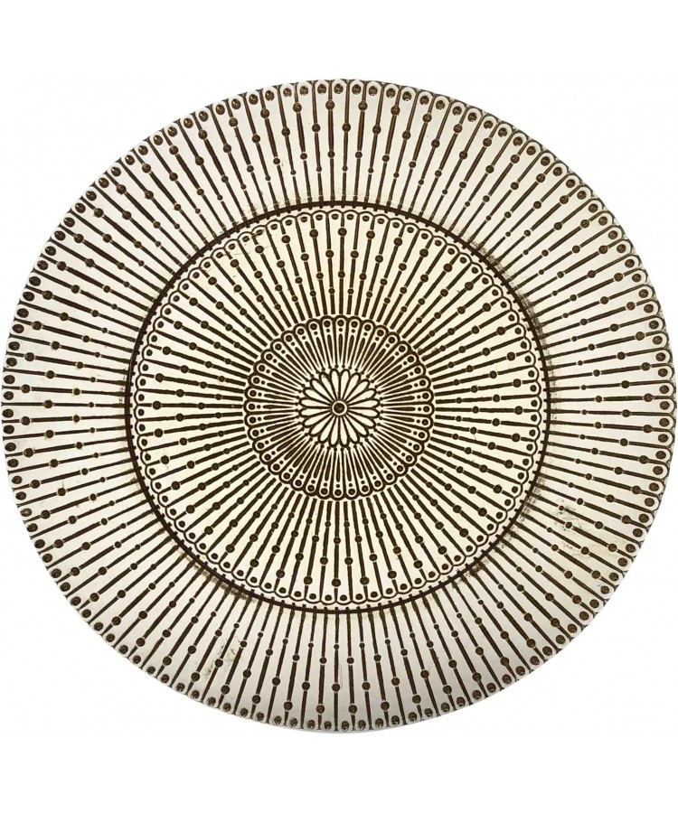 Raindrop Charger Plate (Gold)