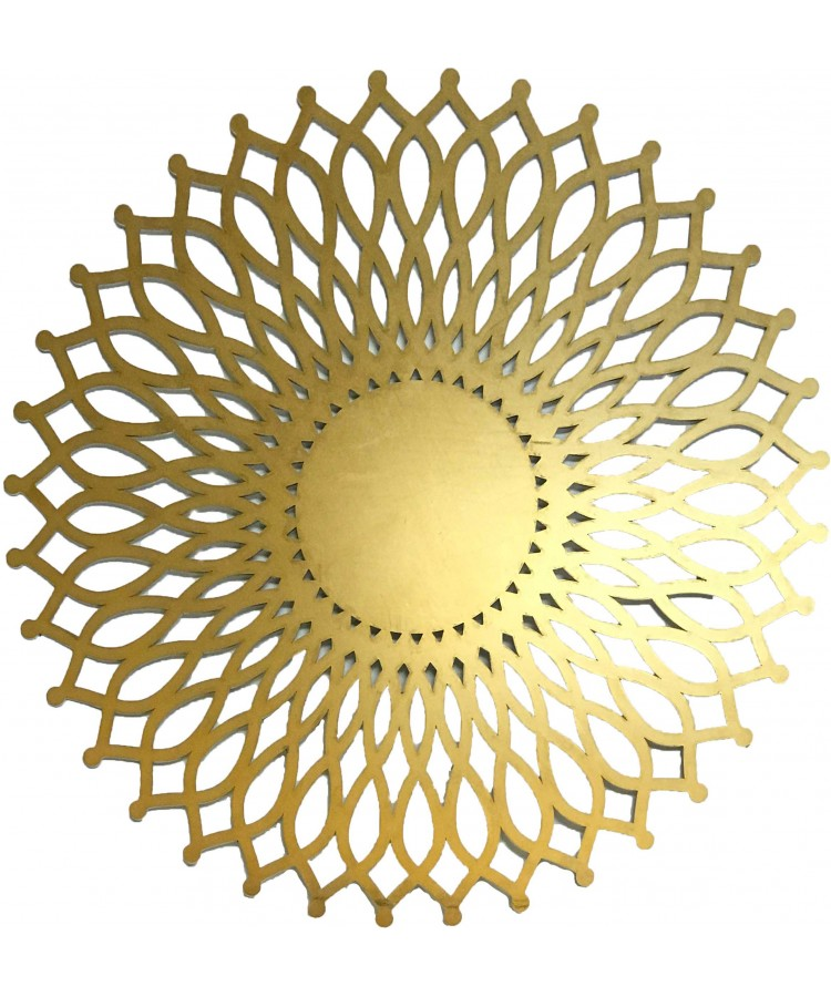 Sol Charger Plate (Gold)
