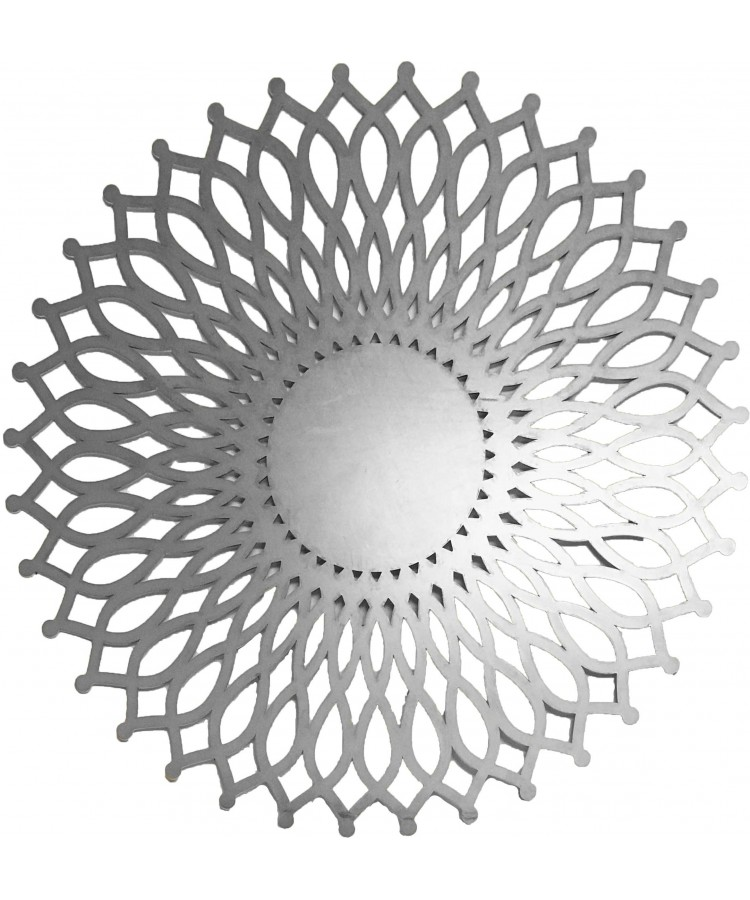 Sol Charger Plate (Silver)