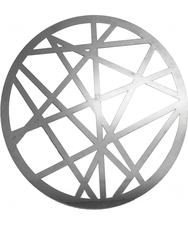 Web Charger Plate (Silver)