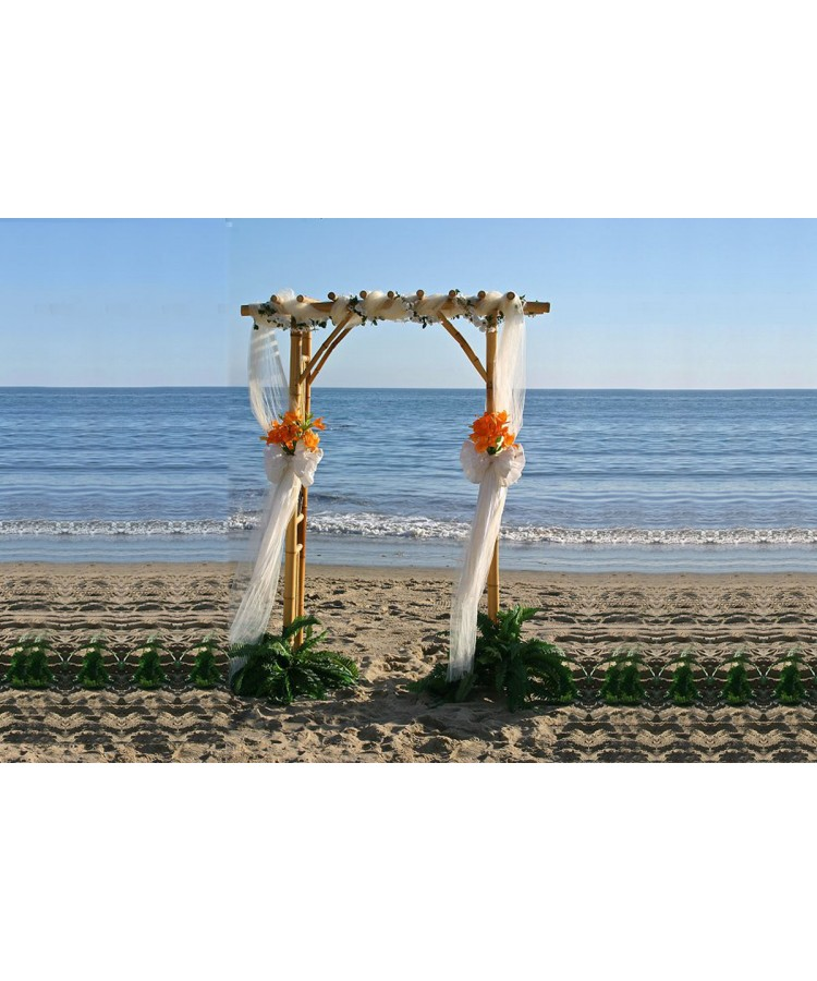 Bamboo Arch Rental