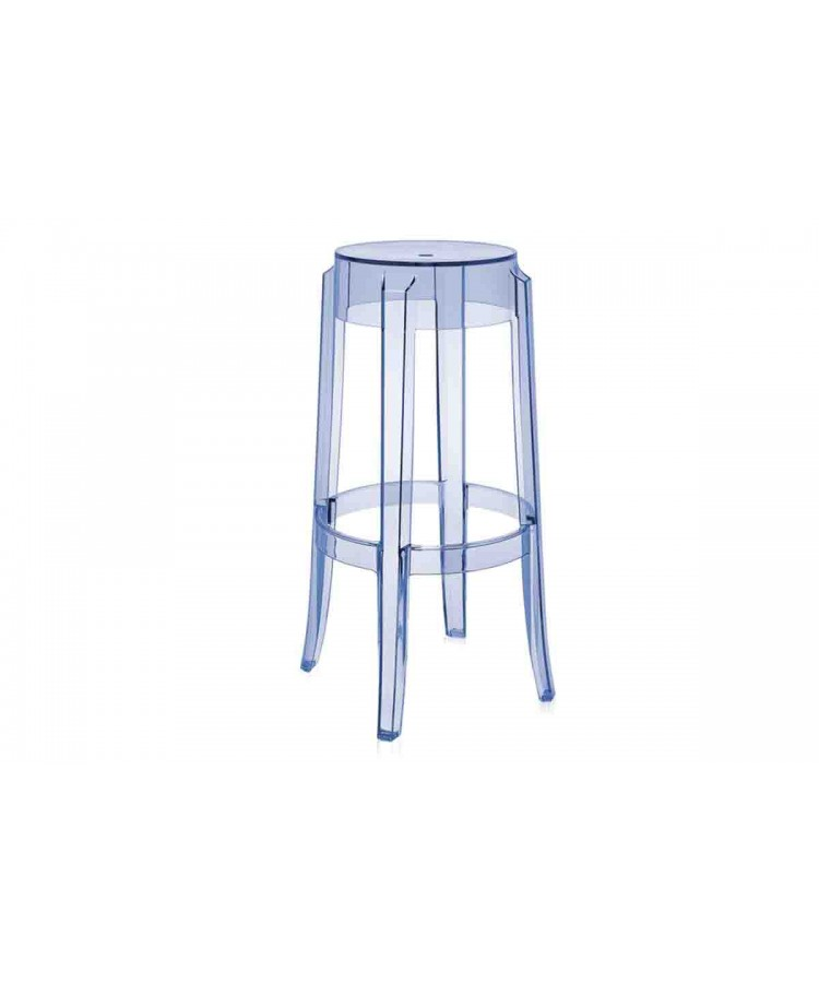 Ghost Barstool Clear
