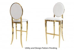 Tiffany Barstool (Gold)