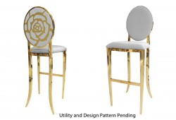 Rose Barstool (Gold)