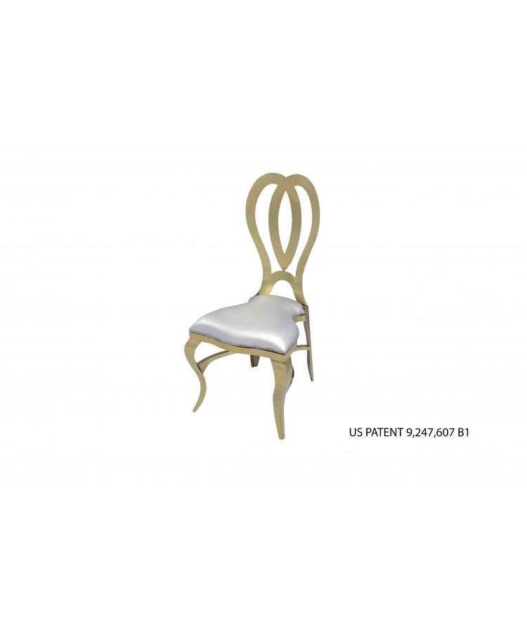 Halexandria Chair (Gold-Silver)