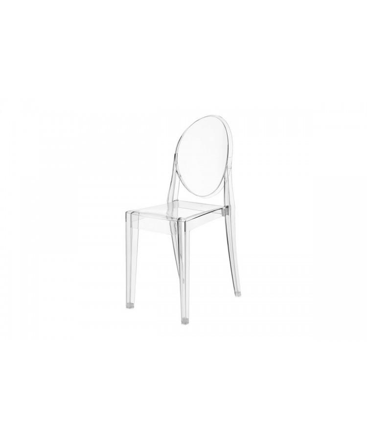 Ghost Chair Clear (Armless)